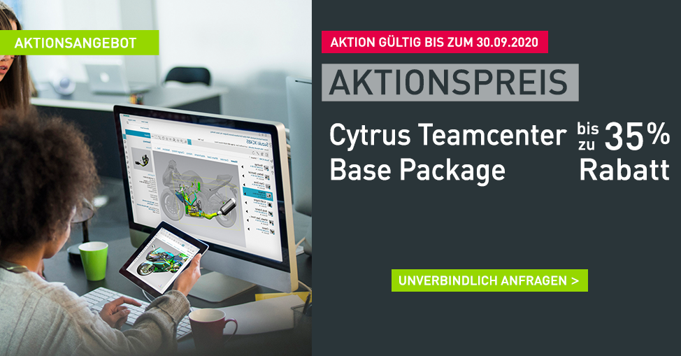 Aktionsangebot Cytrus Teamcenter Base Package